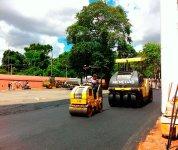 Aluguel de equipamentos para pavimentação