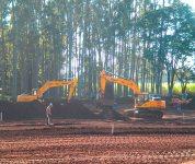 Aluguel de escavadeira